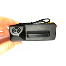 Free shipping for Skoda Octavia Superb Fabia 2010 2013 Trunk handle car reverse rear view camera