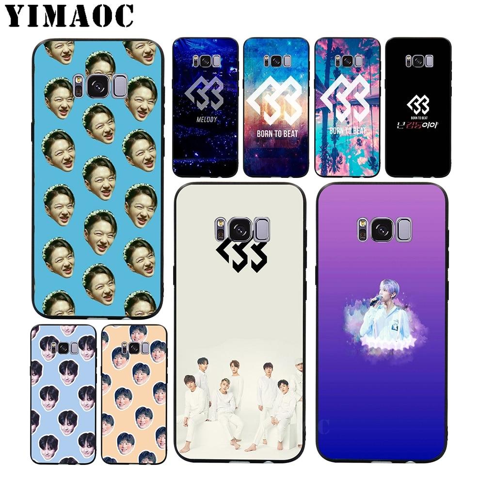 YIMAOC BTOB K Pop Bands Soft Silicone Case for Samsung Galaxy A3 A5 A6 Plus 2017 2017 2016 S6 S7 Edge S8 S9 Plus & Note 8 9