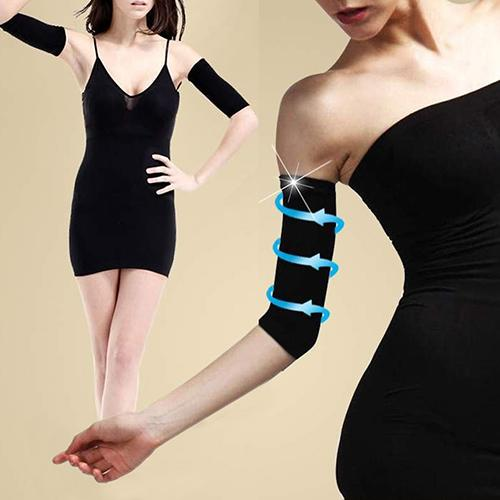 1 Pair Arm Massage Trim Slim Shapers Wrap Slimming Burn Fat Slimmer Beauty Tool