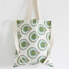 Myvision διπλό στρώμα λευκά βαμβάκι Tote γυναικεία ενιαία τσάντες αγορών μεγάλη τσάντα γυναικών καμβά παραλία Casual Tote Feminina