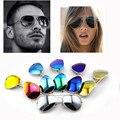 Promoção de Vendas Quente Estrela Da Moda óculos de Sol Oculos de sol Dos Homens Das Mulheres Lente Proteção UV Óculos de Sol Aviador Espelhado