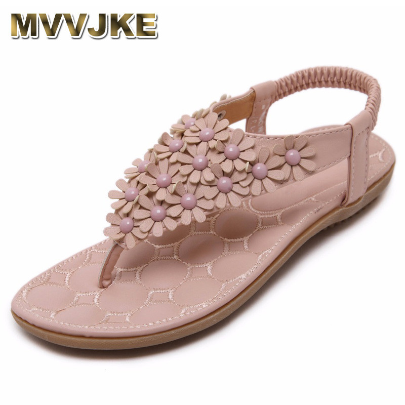 MVVJKE Summer Women Sandals 2018 Gladiator Sandals Women Shoes Bohemia Flat Shoes Sandalias Mujer Ladies Shoes New Flip Flops sandalias mujer 2018 summer shoes gladiator sandals women flat fashion sandals comfortable flip flops ladies shoes