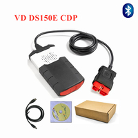free ship 2015R3 CD for delphis snooper wow vd tcs csp pro plus Scanner with bluetooth for vd ds150e new vci DBD diagnostic tool