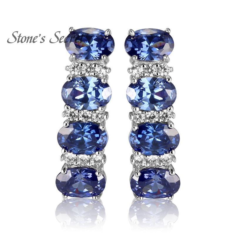 hoop online womens earrings tanzanite shopping d hsn colleen lopez