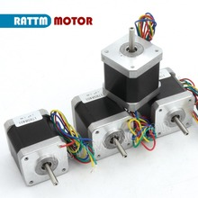 4pcs Nema17 78 Oz-in /48mm CNC stepper motor stepping motor/1.8A CNC 3D Makebot Printer/ Printing 17HS8401 from RATTM MOTOR(China)
