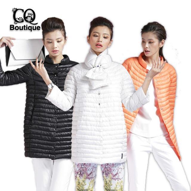 Новый 2016 зимняя куртка женщин теплым цветом пальто мода тонкий ватные пальто парка женский пуховик и парки