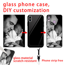 Personalized custom couple phone case for huawie Honor 7 8 9 10 v9 v10 8c 8x honor 7A PRO DIY huawei Y5 6 2018 y5 lite