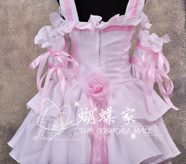 New Chobits Chii 39 s Cosplay Costume Dress Pink with White from Chobittsu chobits cosplay woman party dress