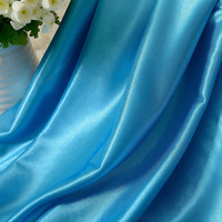 Wholesale 5 Meters Lot Synthetic Silk Satin Fabric Width 150cm For Gift Box Lining Cloth Candy
