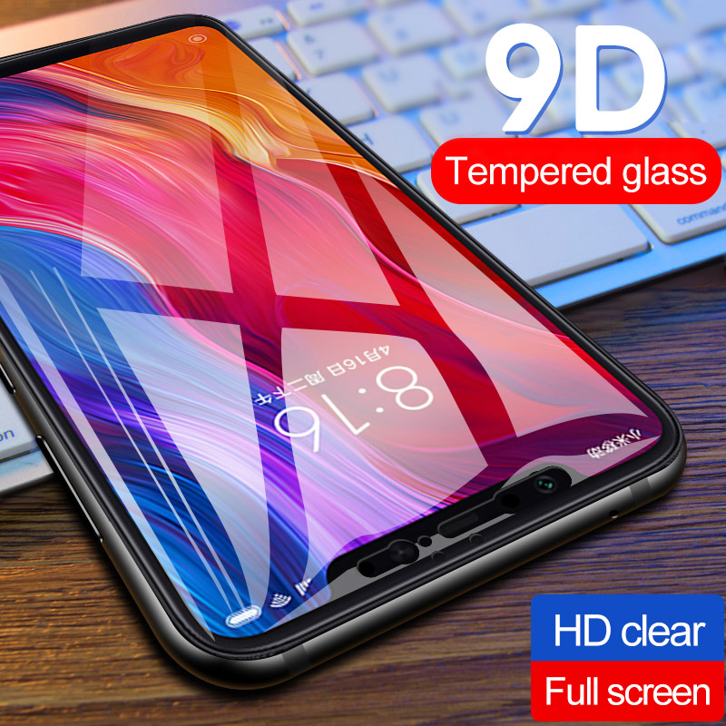 New 9D Curved Full Cover Tempered Glass For Xiaomi Mi9 Mi8 SE Redmi 7 Screen Protector For Mi 8 9 Lite Redmi7 Protection Film