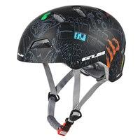 전문 사이클링 성인 bmx 헬멧 산악 자전거 자전거에 대 한 차가운 패드 블랙 L 및 M 크기로 조정 가능한 극단적 인 스포츠