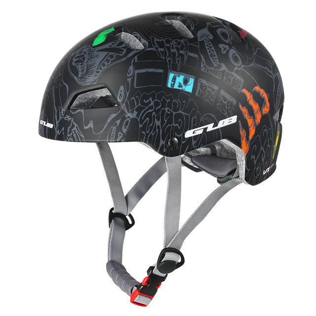 Professional Cycling adult bmx helmet cool for Mountain Road bike Bicycle Extreme Sports adjustable with pads black L and M Size