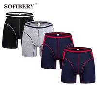 Sofibery Men S Underwear Extra Long Men S Boxers Men S Shorts Modal Stripe Underwear 6