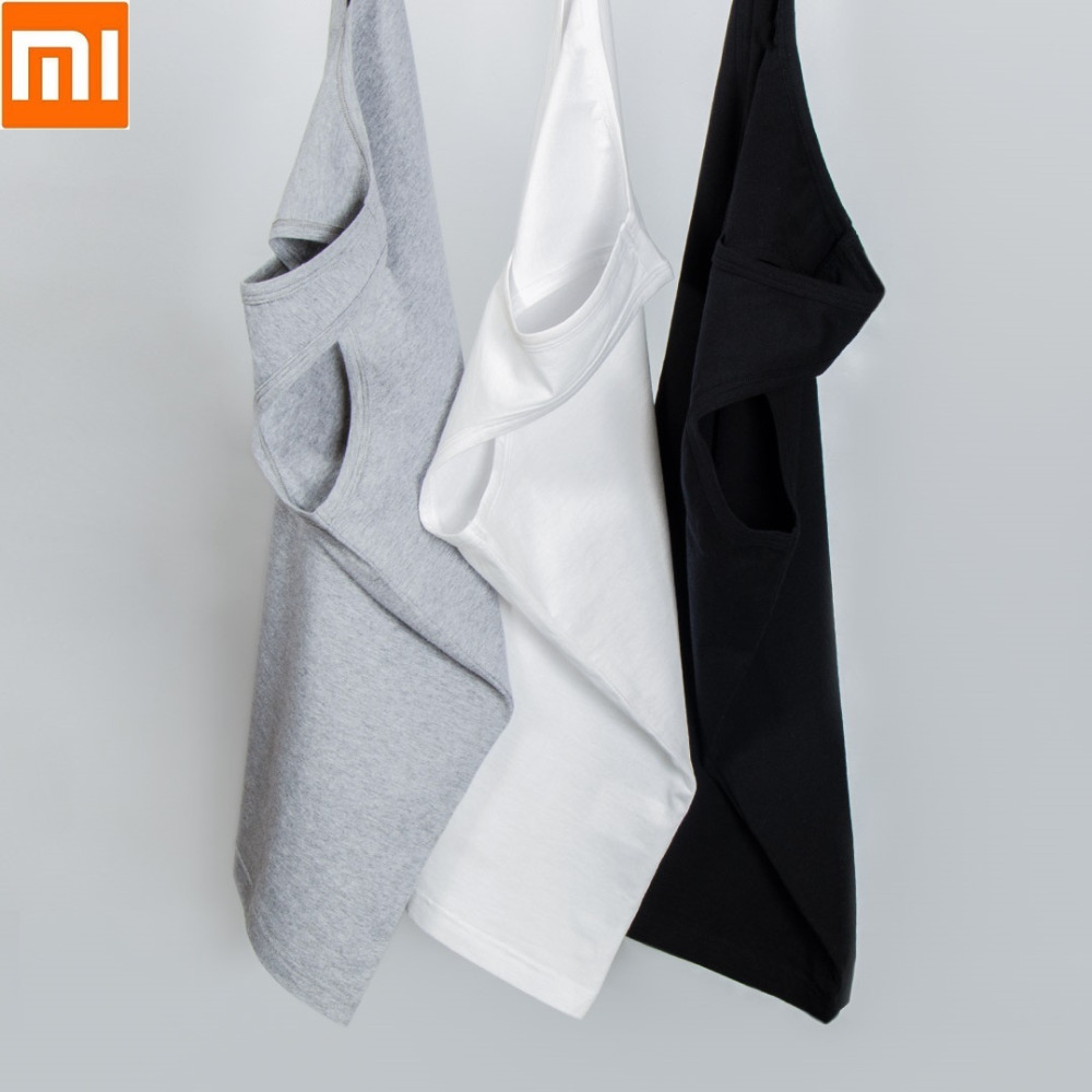 Image 4 - 2pcs/lot Xiaomi Youpin Cotton Smith Soft Bottoming Vest Soft Comfortable Sleeveless Vest for Men Indoor or Outdoor-in Smart Remote Control from Consumer Electronics