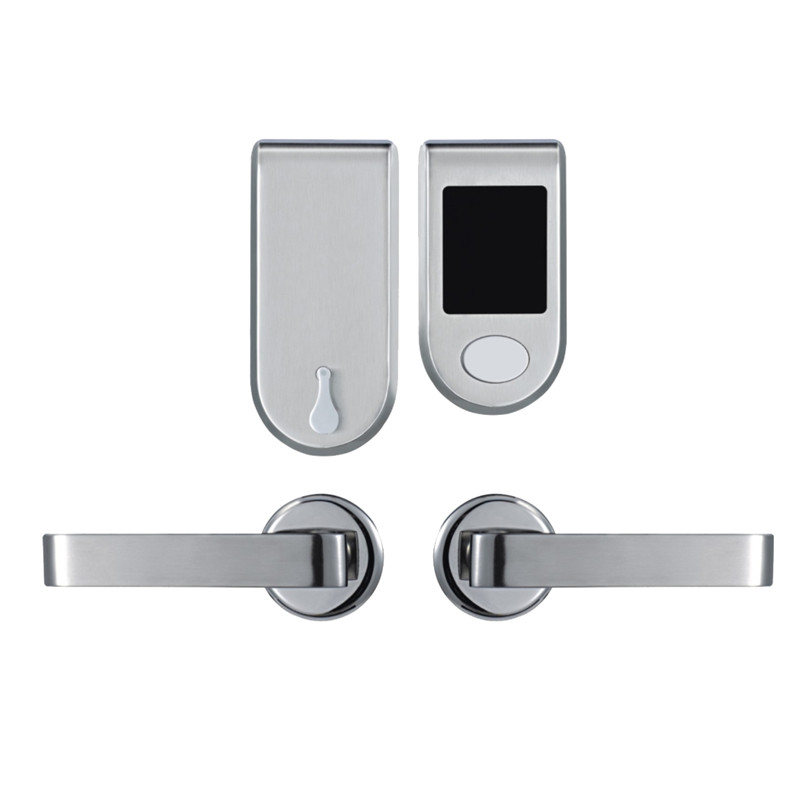 Electronic RFID Card Door Lock with Key Electric Lock For Home Hotel Apartment Office Smart Entry Split Design lk610BS hotel lock system rfid t5577 hotel lock gold silver zinc alloy forging material sn ca 8037