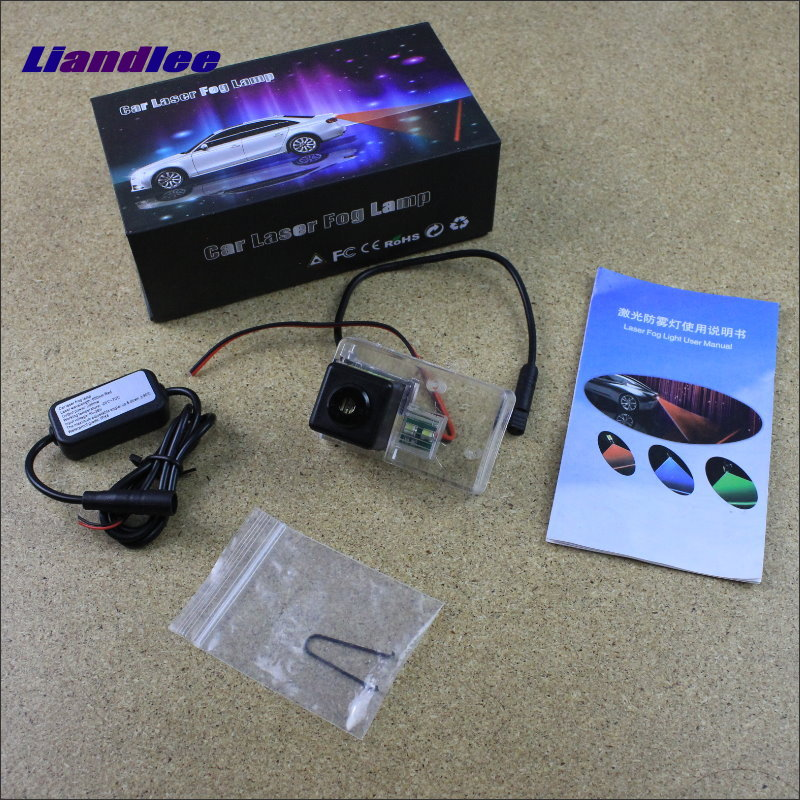 Liandlee Anti Collision Laser Lights For Citroen C5 II/ C6 Car Prevent Mist Fog Lamps Anti Haze Warning Rear Light