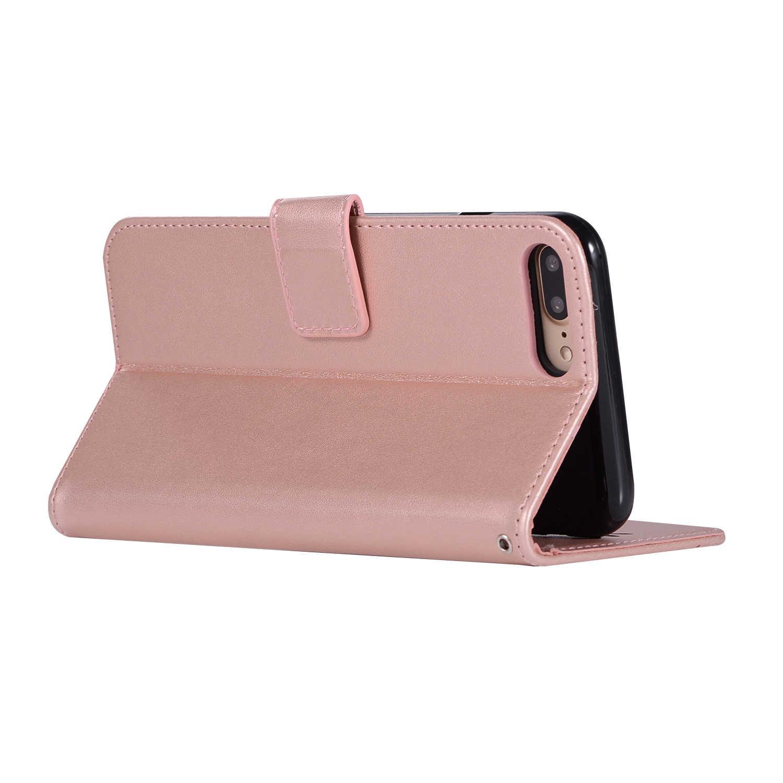 360 protección completa magnética 8 para iPhone 7 Plus 7 + 8 + funda Flip Cover 3D cuero suave TPU para iPhone X 5 5S SE 6 6S Plus 6Plus