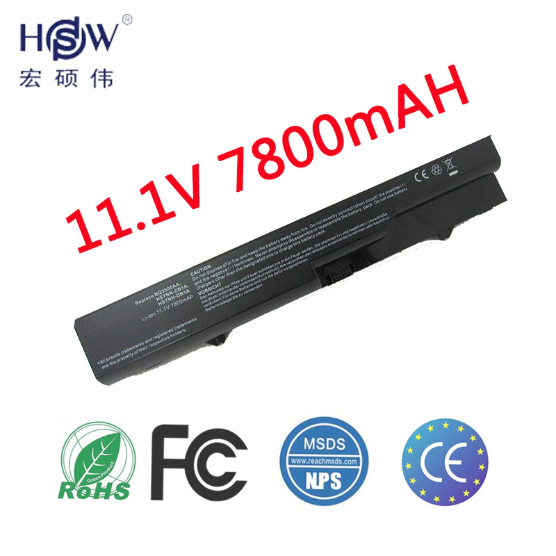 HSW Laptop Battery PH09 PH06 HSTNN-W79C-7 For HP ProBook 4720s 4525s 4520s 4425s 4421s 4420s 4326s 4325s 4321s 4320t 4320s аккумуляторная батарея topon top 4320 4800мач для ноутбуков hp 425 4320t 625 probook 4320s 4321s 432