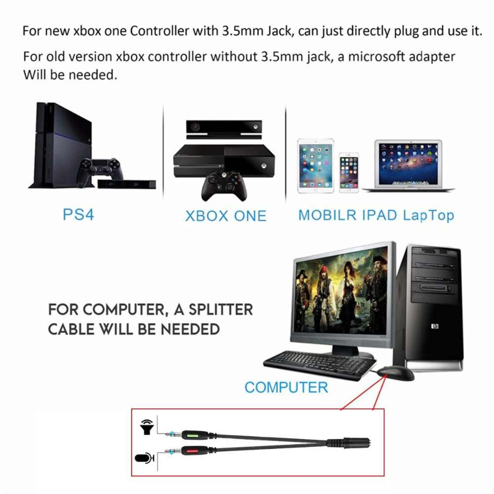 ONIKUMA K1 casque PS4 Gaming Headset PC Gamer Bass Earphones Headphones  with Mic for Mac Nintendo Switch New Xbox One PUBG Games