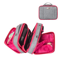 QIUYIN girl cosmetic bag female wash cosmetics storage travel multi-pocket ladies multilayer