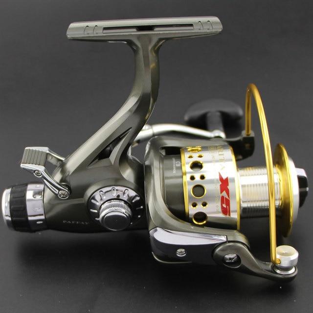 76d234a8c0c Large Metal Fishing Reel Spinning reel 5000-6000 series 9+1BB 5.2:1 bait  casting reel daiwa pesca abu garcia carp fishing