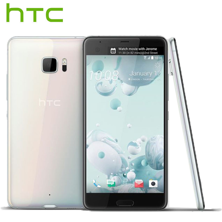 Hot Sale HTC U Ultra LTE Mobile Phone Dual SIM 4GB 64GB Snapdragon821 Quad Core 5.7 inch 2560x1440px DualView Android Smartphone