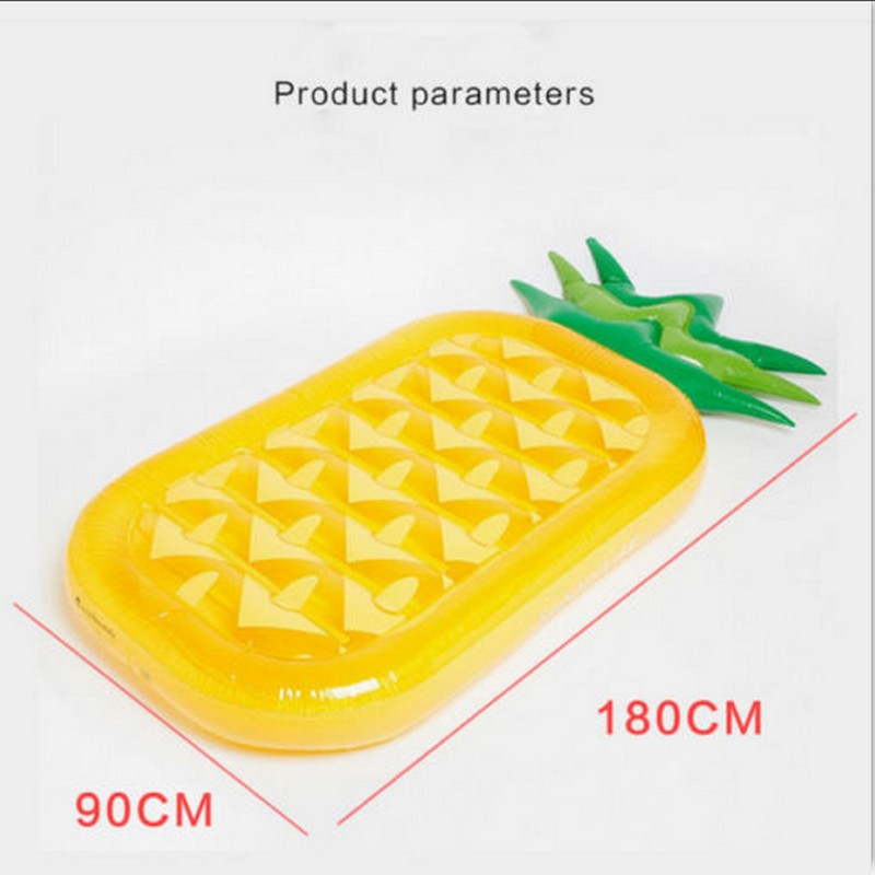 180cm * 90cm New design inflatable pineapple / inflatable pineapple pool float / inflatable pineapple rider Free shipping
