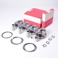 STD 82.5mm Piston & Ring Set Fit For AUDI A3 TT VW Eos Passat CC Tiguan Jetta Golf 2.0T Wrist pin size 21mm 06H 107 065 AM