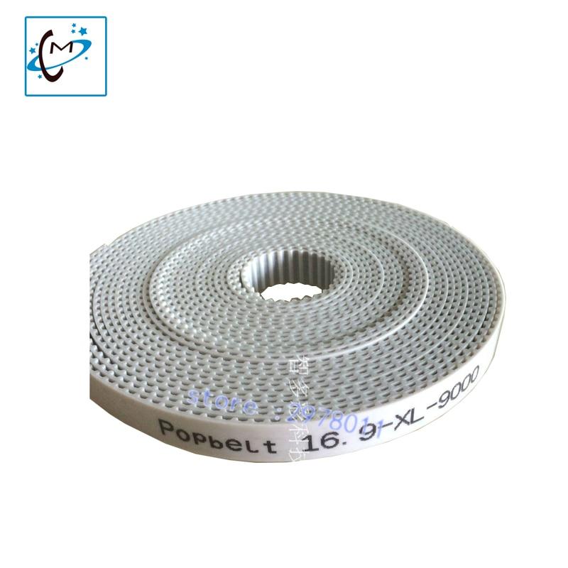 16.9XL-9000 long carriage belt for digital printer machine  Wit-color Liyu Flora Myjet Zhongye Crystaljet Phaeton  carriage belt 89xl belt for liyu ph pg pm series printer