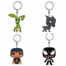 Harri Potter Fantastic Beasts Where to Find Them Niffler Pickett Thestral VENOM Pocket Keychain Collection model doll Vinyl Toys(China)