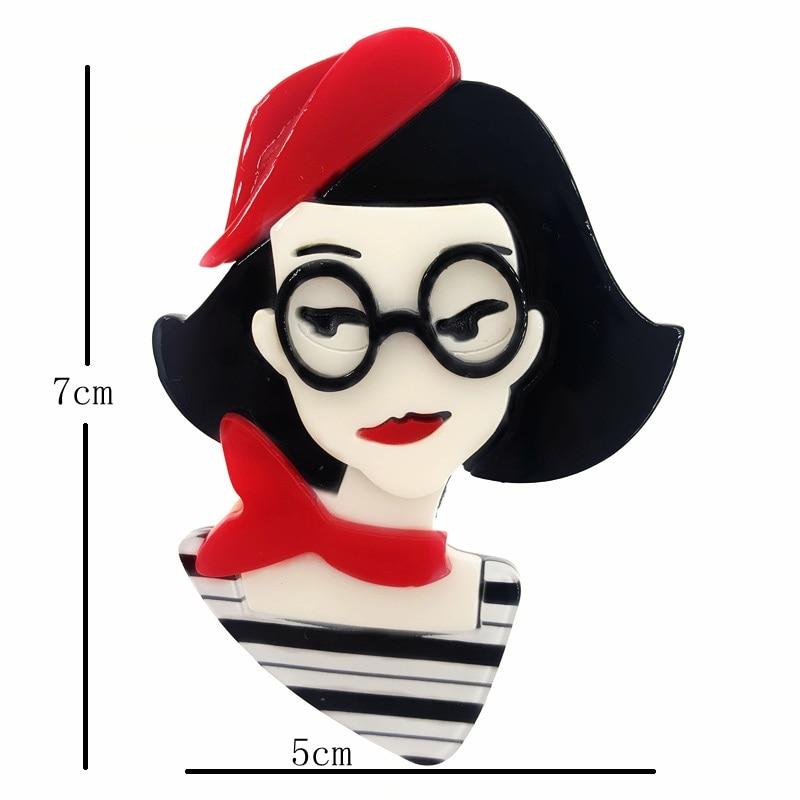 SexeMara-New-Design-Red-Hat-Acrylic-Girl-Brooch-For-Women-Girls-Cartoon-Lovely-Girl-Pins-Lapel (1)