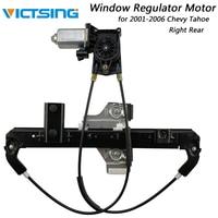 VicTsing Right Rear Power Window Regulator with Motor for Chevrolet Tahoe Yukon 2001 2006 for GMC Yukon for Cadillac Escalade