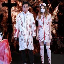 c476d15c90a02 Halloween Women Zombie Ghost Nurse Cosplay Zombie Nurse Uniform Men Dead  Costume Cosplay Fancy Dress(