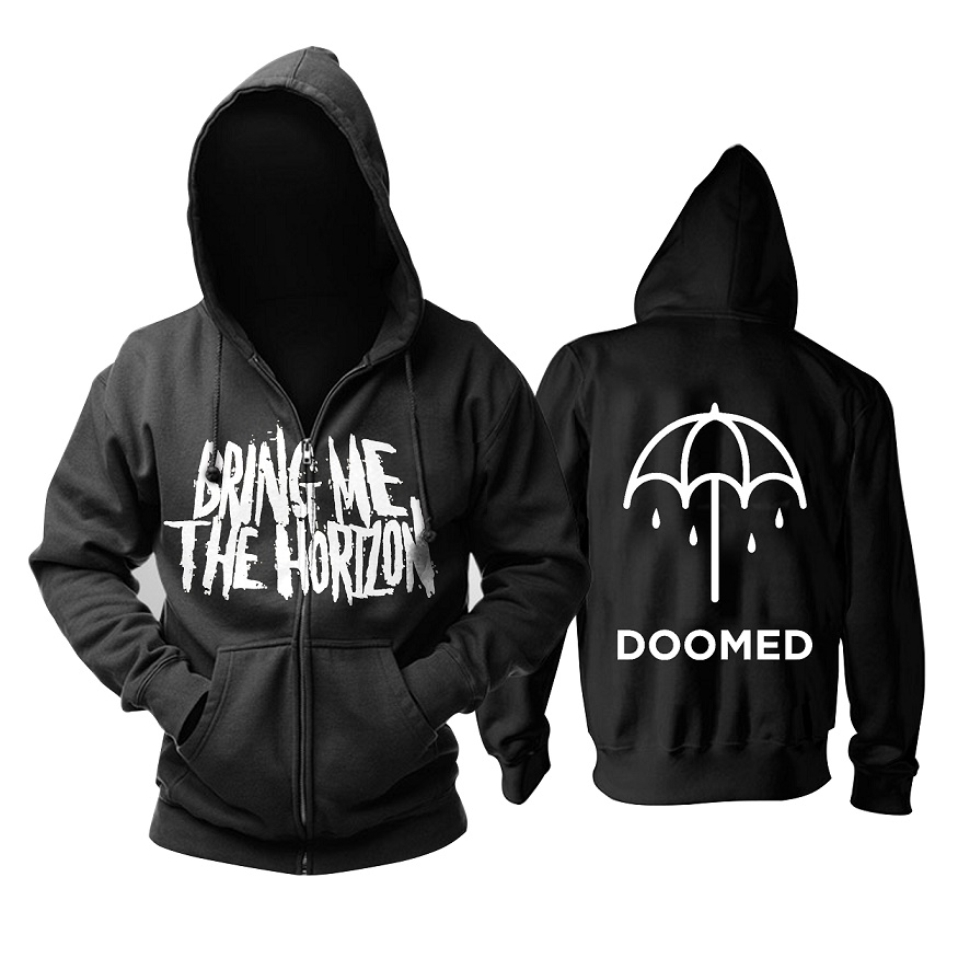 Amo Symbols NEW Mens//Womens Bring Me The Horizon Unisex Pullover Hoodie