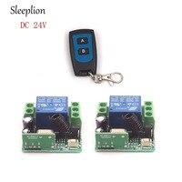 Sleeplion 24 В 1 CH 1ch rf Беспроводной Дистанционное управление переключатель Системы 315/433 mhz передатчик + приемник