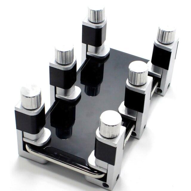 4 Pieces / Set of Mobile Phone Repair Kit for Telephone Repair Adjustable Plastic Clip Fixture LCD Screen Clip Tool Kit