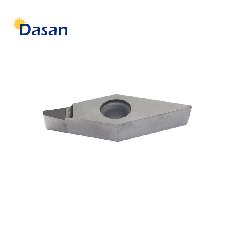 PCD VCMT160404 VCMT160408 CNC Turning Lathe Diamond Tipped Polycrystaline Diamonds Blade Indexable Inserts Lathe Machine Tool