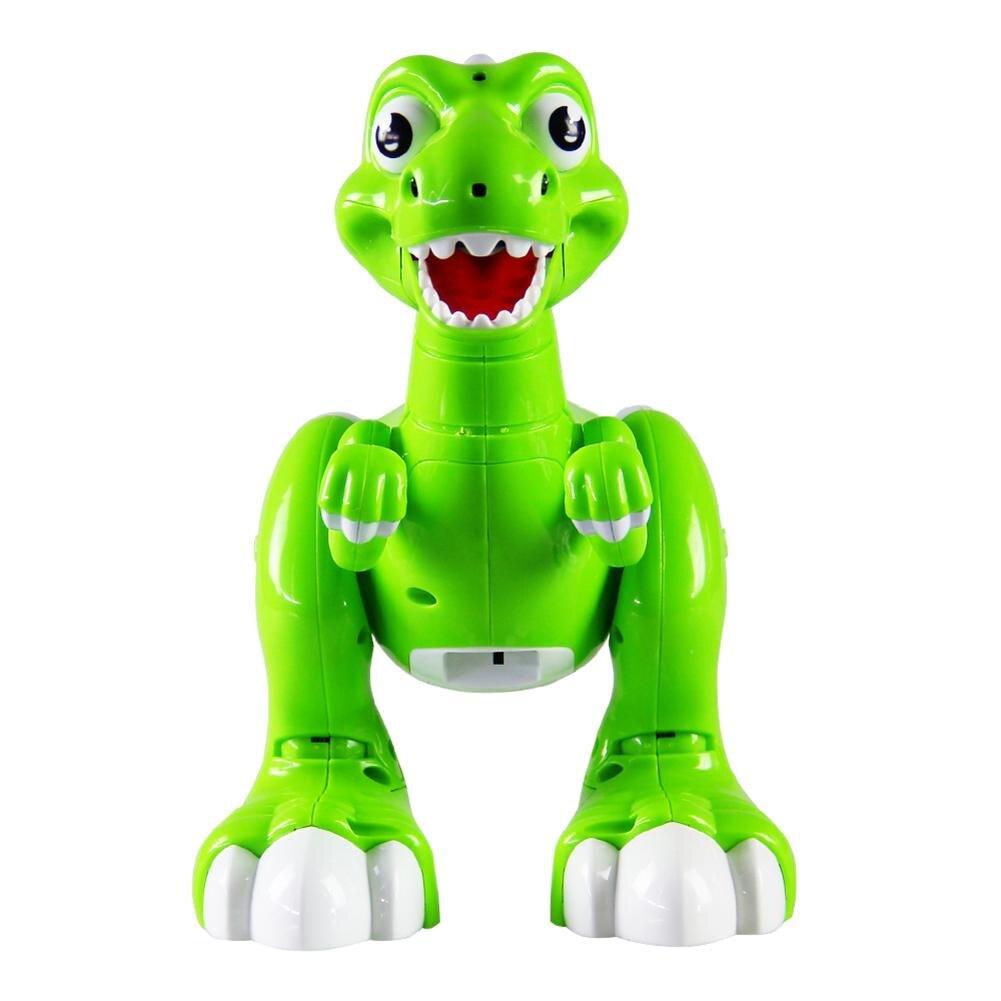 RC Spray dinosaurio eléctrica inteligente Control remoto juguetes simulación niebla Jurásico modelo Animal dinosaurio Robot niños regalo