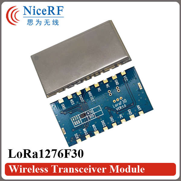 2PCS Lora1276F30 500mW Alta sensibilidad (-120 dBm) Módulo de RF - Equipos de comunicación - foto 5