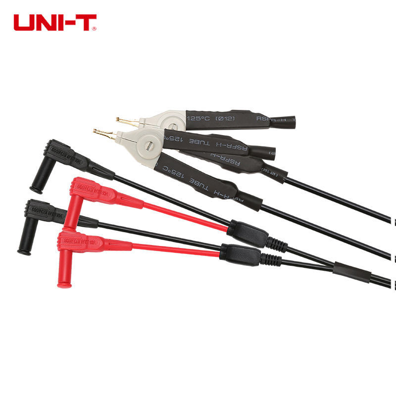 UNI-T UTL61 Parts Kelvin Test Leads Probes Clip LCR Meter Wire Cable Applies To UT612/UT611 Accessories Durable цены