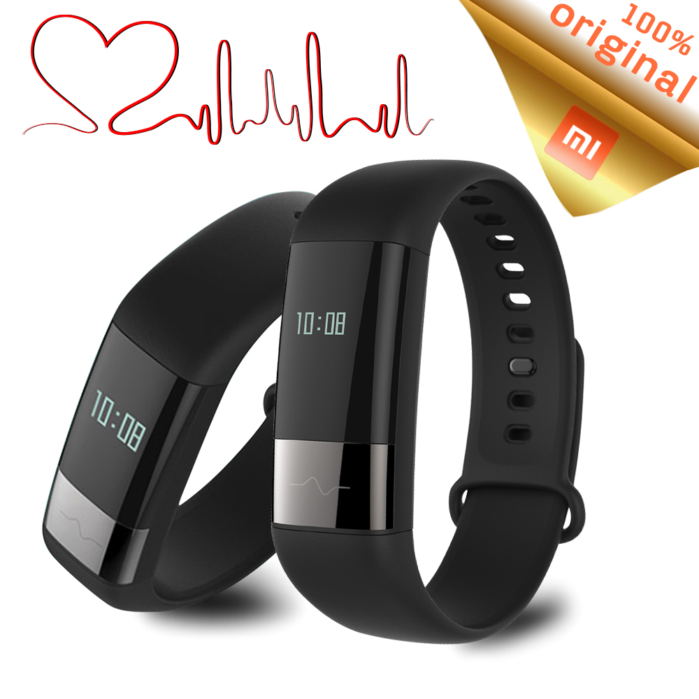 Original Xiaomi Amazfit Fitness Tracker Smart Bracelet Touch Screen Real time Heart Rate Monitor Push Message