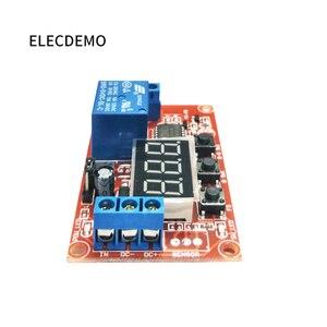 Image 5 - Multi funzione digital display di potenza regolabili modulo relè di ritardo del ciclo di alta e bassa impulso di trigger 5V12V24V