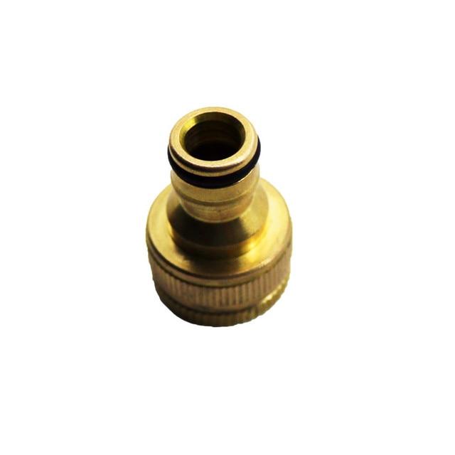 6pcs Copper Faucet Quick Connector Washing Machine Hose Nipple