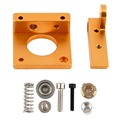 3D Printing Accessories MK8 Extruder Aluminum Block DIY Kit Professional Single Nozzle Extrusion Head Block For Reprapi3