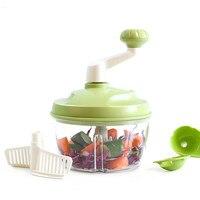 F Multi function Vegetable Spiralizer Cutting Hand Shake Meat Grinder Machine Shredded Vegetables Food Chopper Kitchen Gadgets