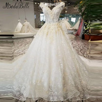 Modabelleลูกปัดชุดแต่งงานสำหรับ