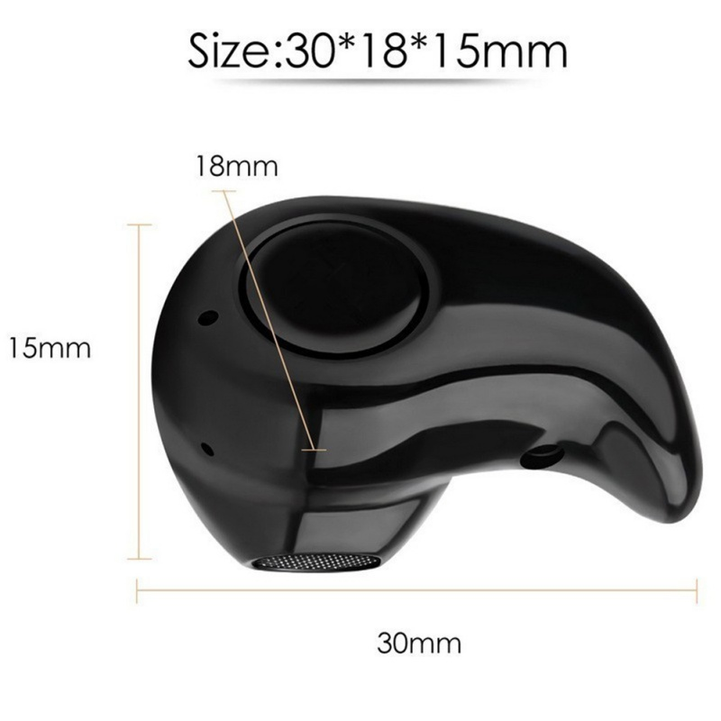 New Arrival Mini S530 Stereo Music Bluetooth 4.0 Headphones Wireless Headset Earphone With Mic for Android Phone For iPhone q2 mini bluetooth headset stereo wireless earphone headphones music car driver headset stealth earbuds mic with charging socket