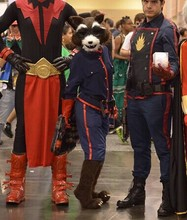 Ohlees Guardians of the Galaxy  rocket raccoon  Mascot Costume  fanny School sports meet  mascot accept costomize