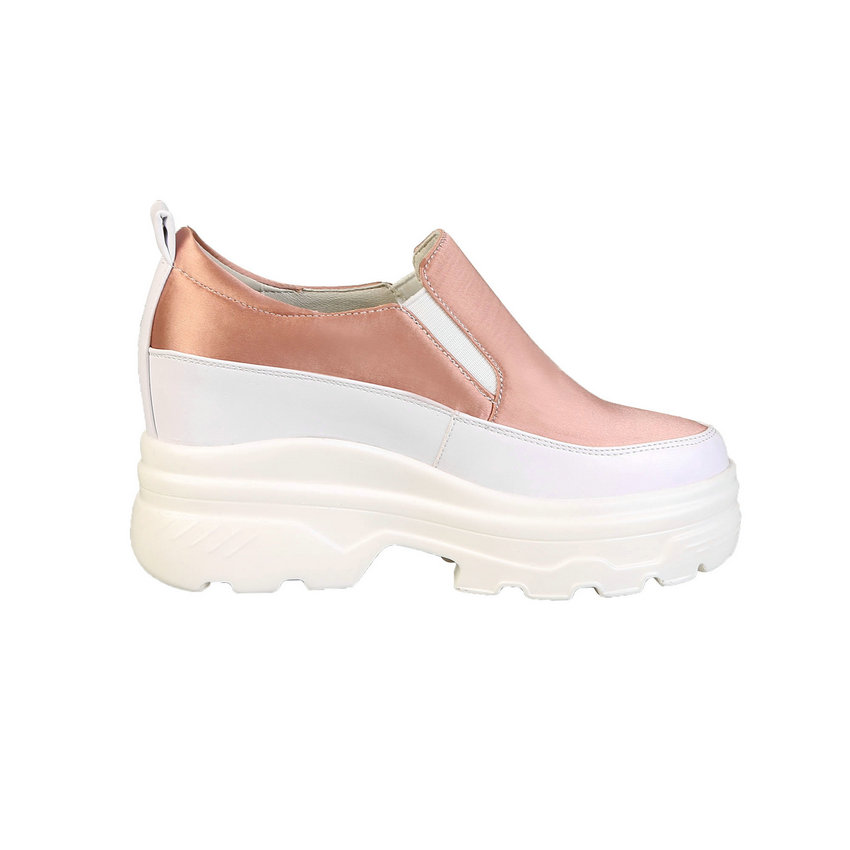 2019 black Pour On Lacets xiangbinse Lace Plate Qutaa xiangbinse Femmes forme Chaussures Printemps Taille Pompes À Up Coins Rond On pink Black Slip On automne pink Talon Bout Mode Up Up 3439 De 6vb7mgIfyY