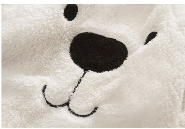 Polar Bear Fleece Sleepsuit